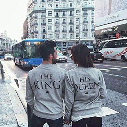 Matching Couple T-Shirts: 28+ Cute Matching T-Shirt Ideas for Him & Her 22
