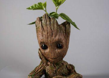 Cute Baby Groot Flower Pot