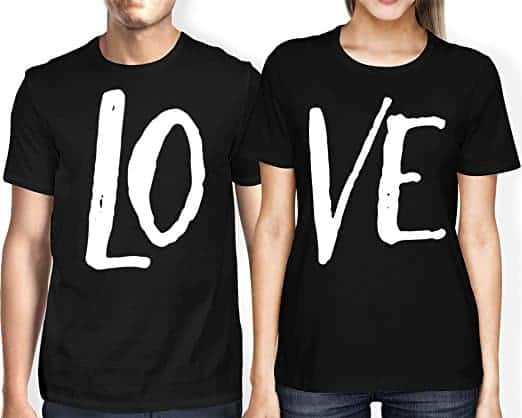 Matching Couple T-Shirts: 28+ Cute Matching T-Shirt Ideas for Him & Her 14