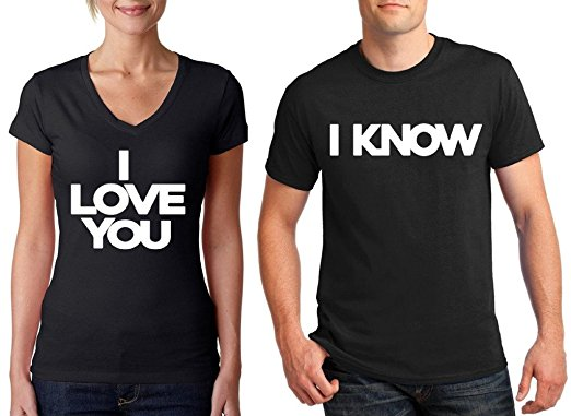 Matching Couple T-Shirts: 28+ Cute Matching T-Shirt Ideas for Him & Her 16
