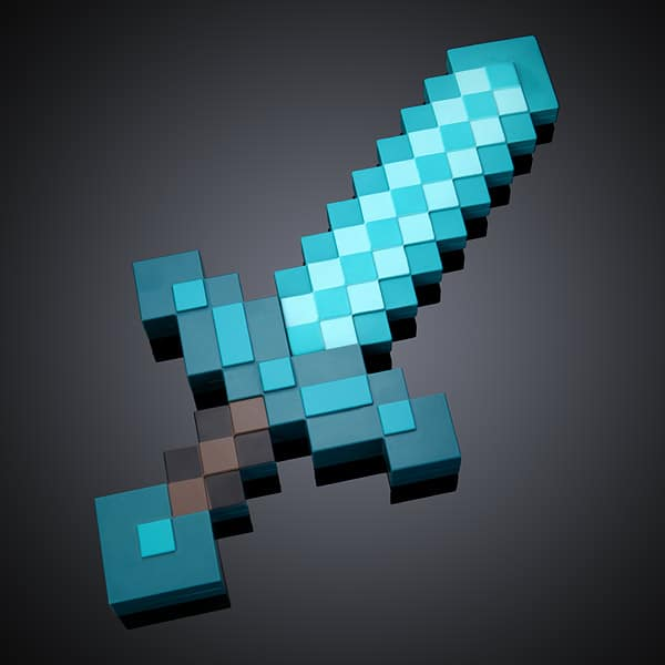 Minecraft Deluxe Diamond Sword