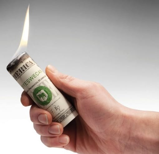 Money To Burn Fire Starter 1
