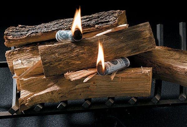 Money To Burn Fire Starter