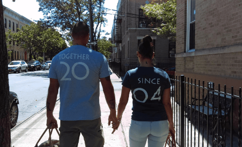 Matching Couple T-Shirts: 28+ Cute Matching T-Shirt Ideas for Him & Her 18