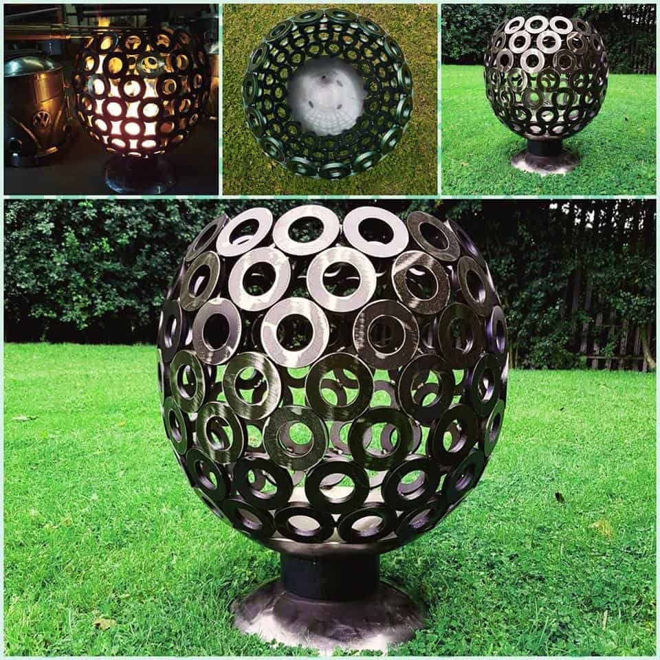 Custom Log Burners Sculptures (4)