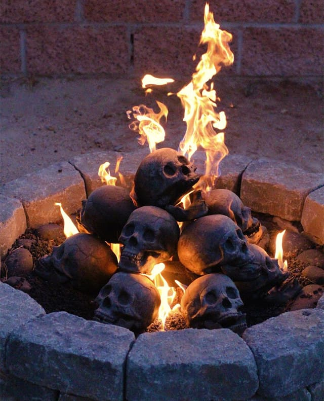 Fireproof Human Skulls