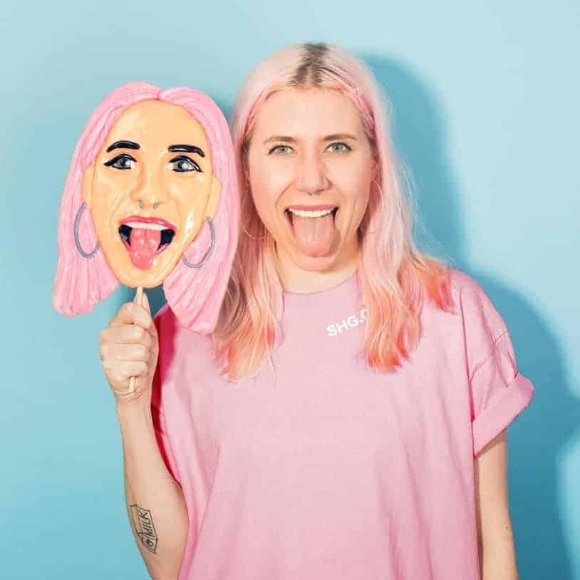 Giant Personalized Face lollipop