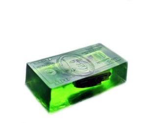 Green Money Soap Bar