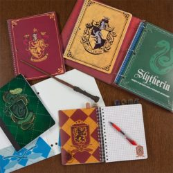 Harry Potter Hogwarts Vinyl Notepad