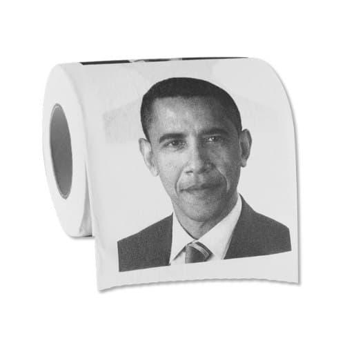 Hilarious Barack Obama Toilet Paper