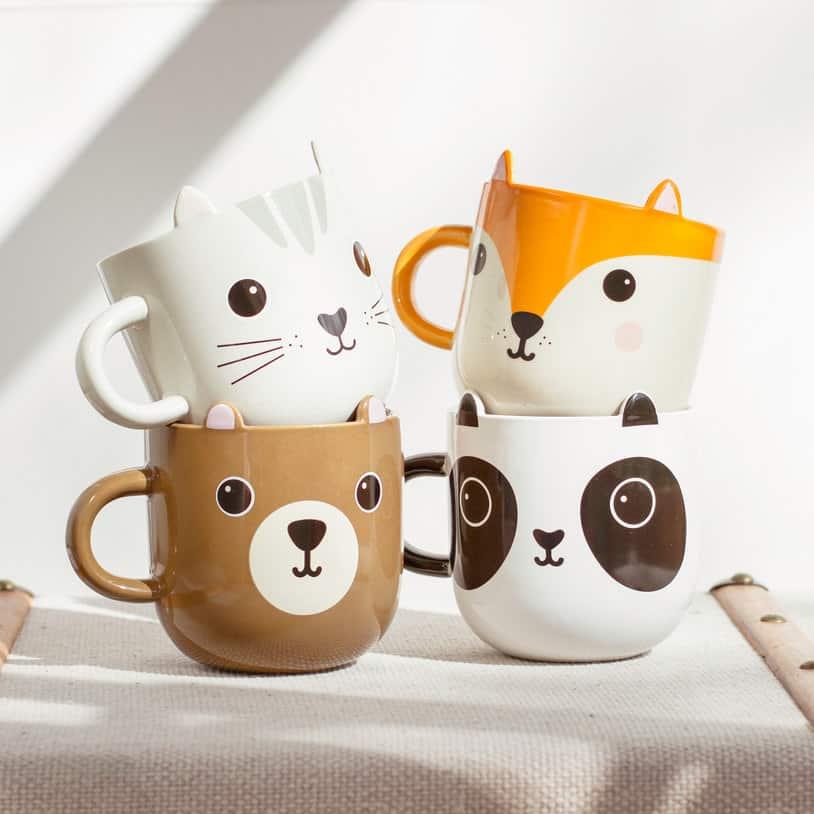 6e4f8751bc7 Unique Coffee Mugs: Super Cool Coffee Mugs You Would LOVE To BUY. Kawaii  Animal Coffee Mugs