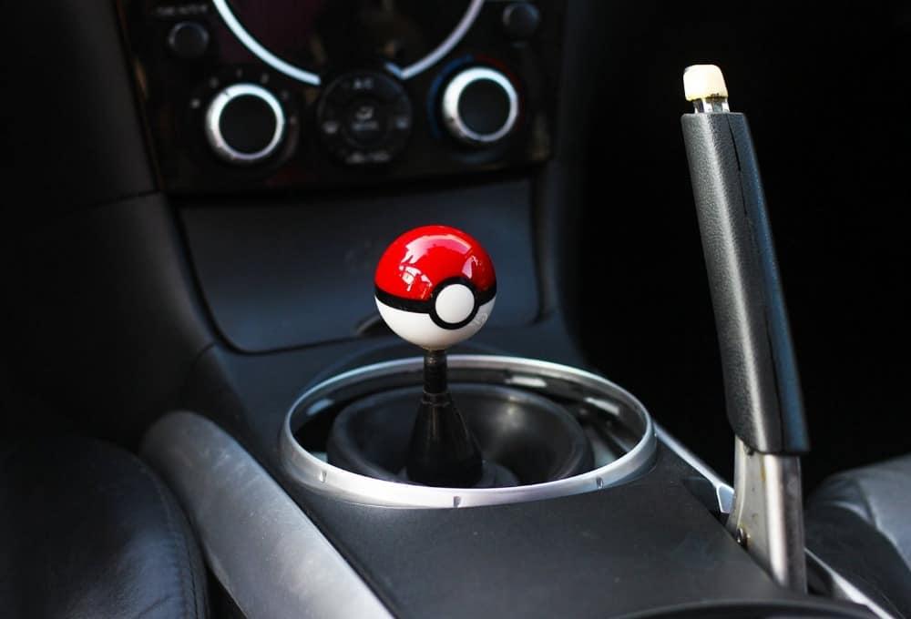 Pokemon Pokeball Shift Knob