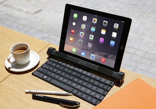 Rollable Keyboard & Bluetooth Speaker