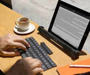 Rollable Keyboard & Bluetooth Speaker