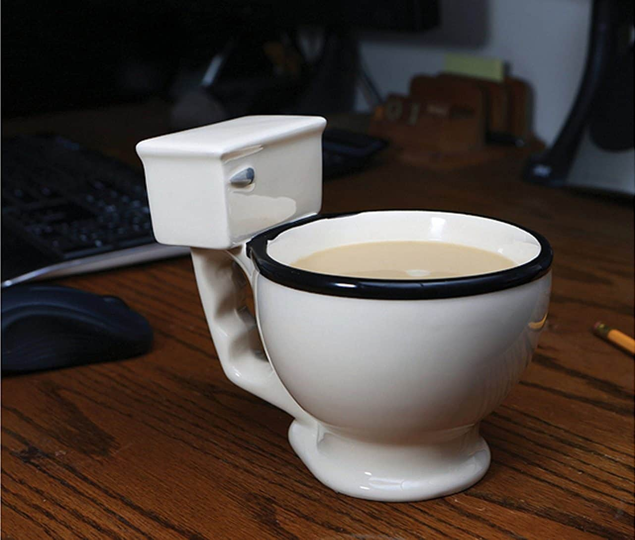 Toilet Mug For Coffee