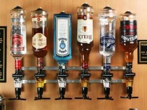 Wall Mounted Liquor Dispenser