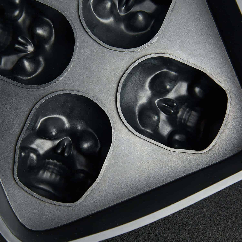 3D Skull Ice Tray