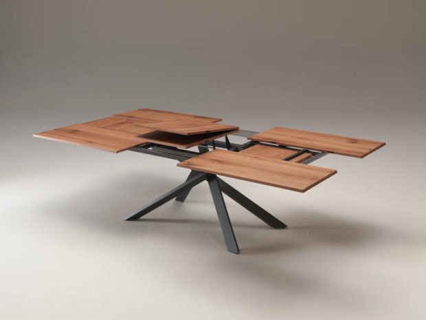 4x4 Extendable Dining Table