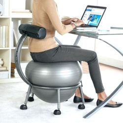 Adjustable Fitness Ball Chair