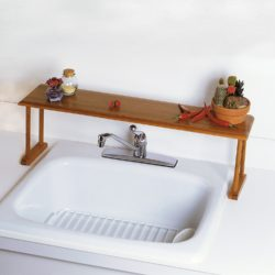 Bamboo Wooden Sink Shelf