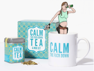 Calm The F*ck Down Tea