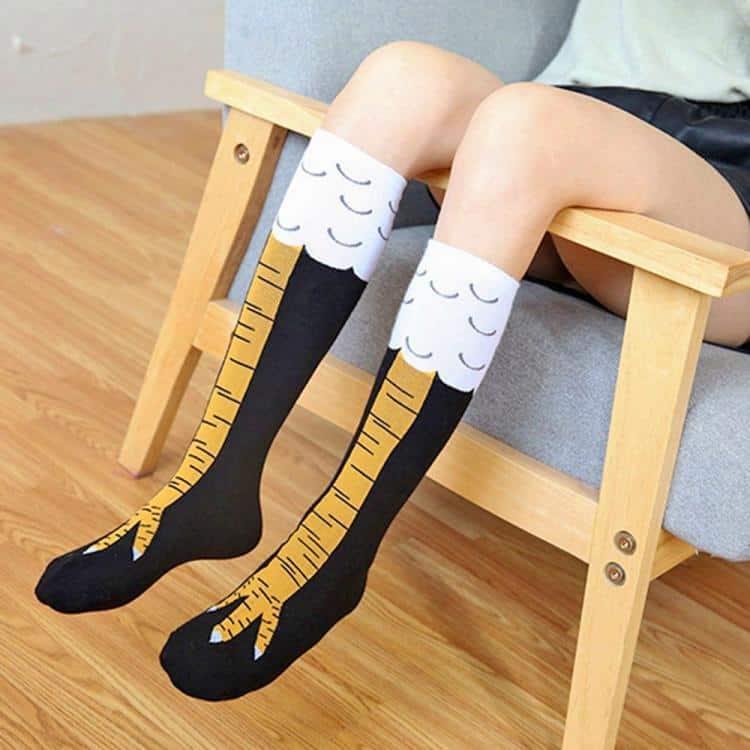 Cute Chicken Legs Socks