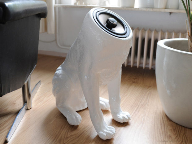 Dog Shaped Woofer Speakers