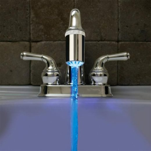 Temperature Controlled Faucet Light