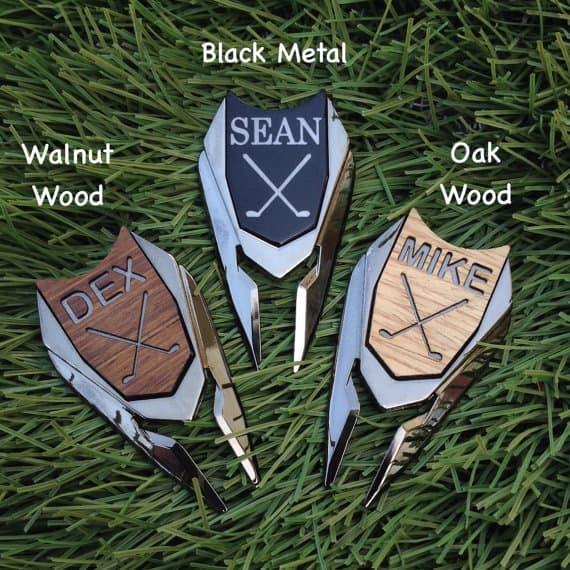 Personalized Golf Ball Marker & Divot Tool