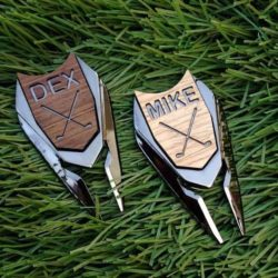 Personalized Golf Ball Marker & Divot Tool