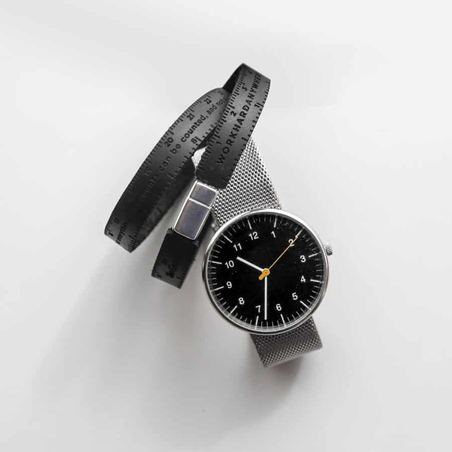Ruler Bracelet Black