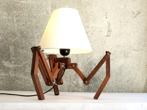 Spider Tripod Lamp