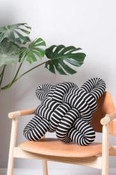 Stripes Knot Pillow
