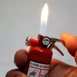 Tiny Fire Extinguisher Lighter