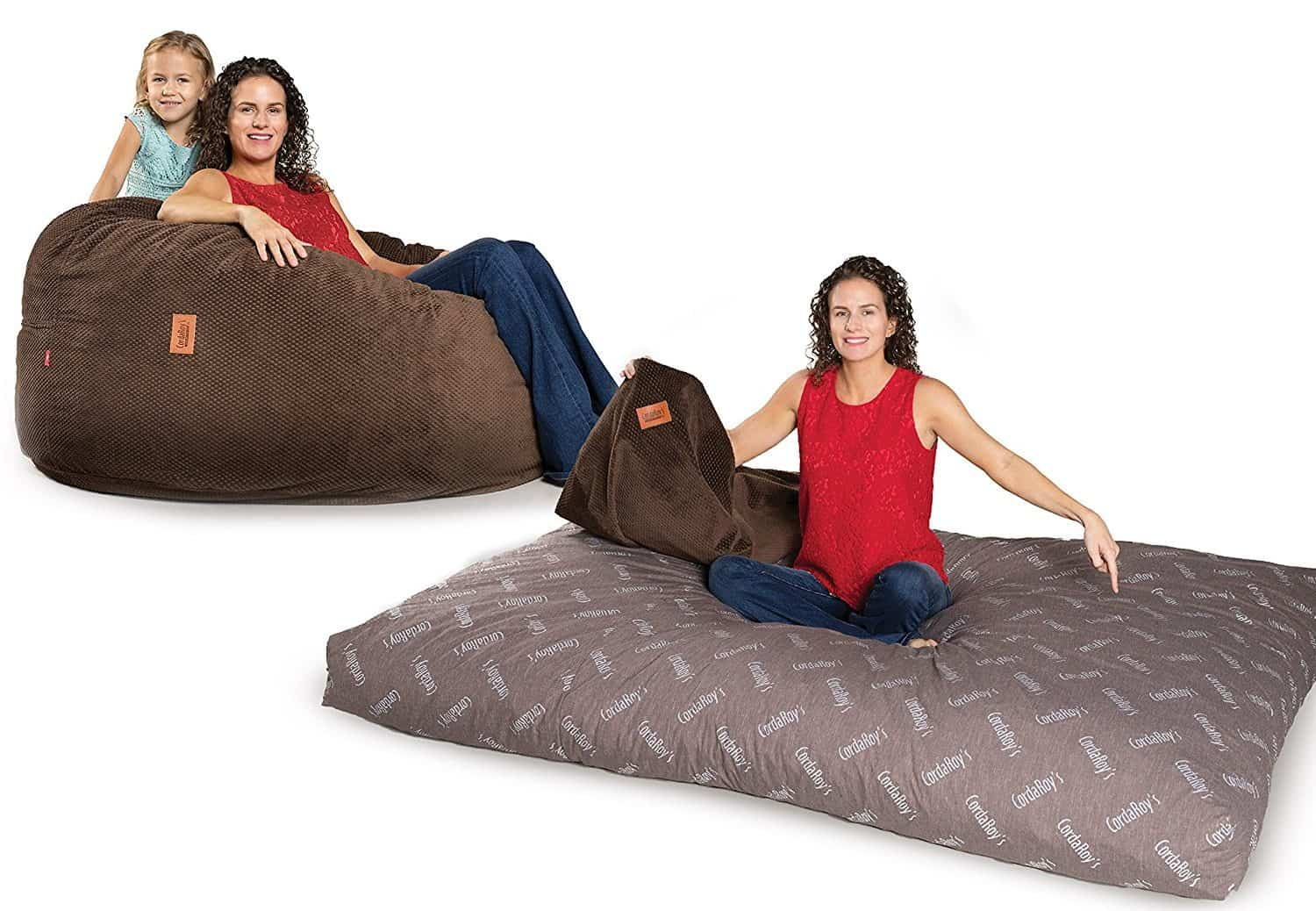 Convertible Bean Bag Chair To Mattress Bed