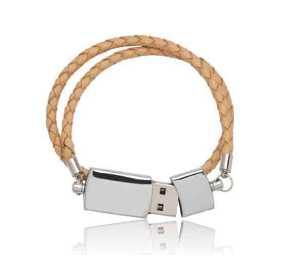 Leather USB Bracelet