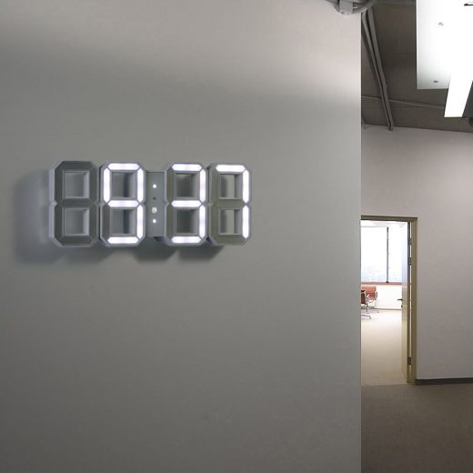 Modern LED Wall Clock