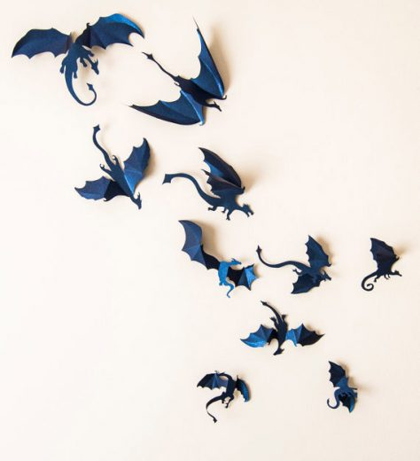 3D Dragon Wall Decals