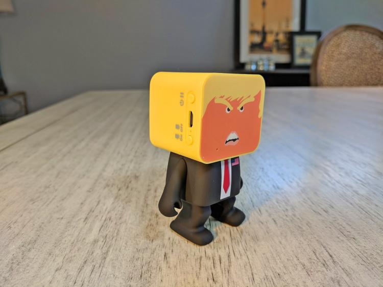 Dancing Donald Trump Speaker