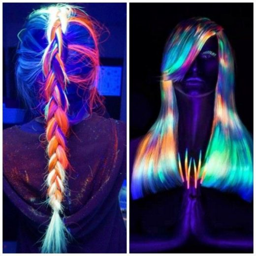 Hair Dye That Glows In The Dark