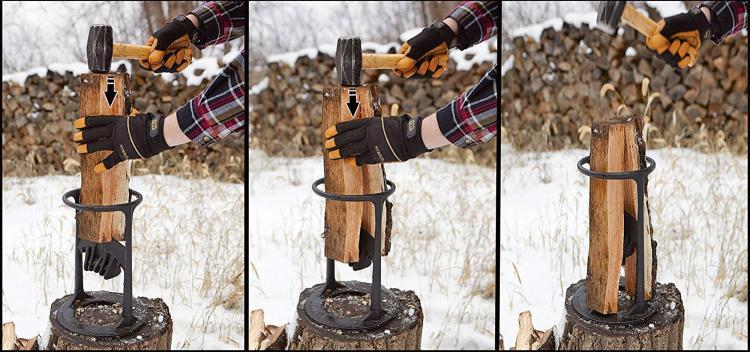 Kindling Cracker Firewood Kindling Splitter 2