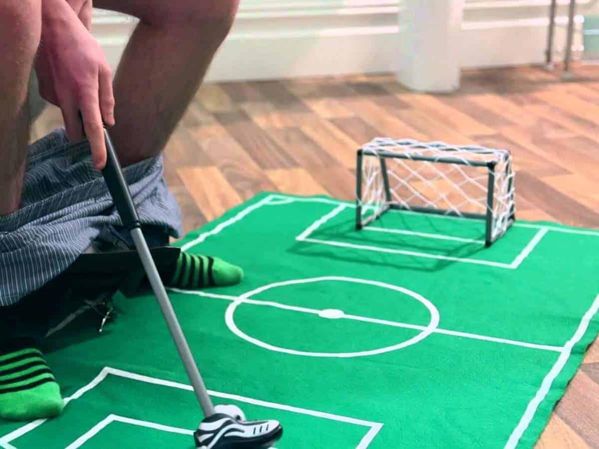 Novelty Toilet Football Game