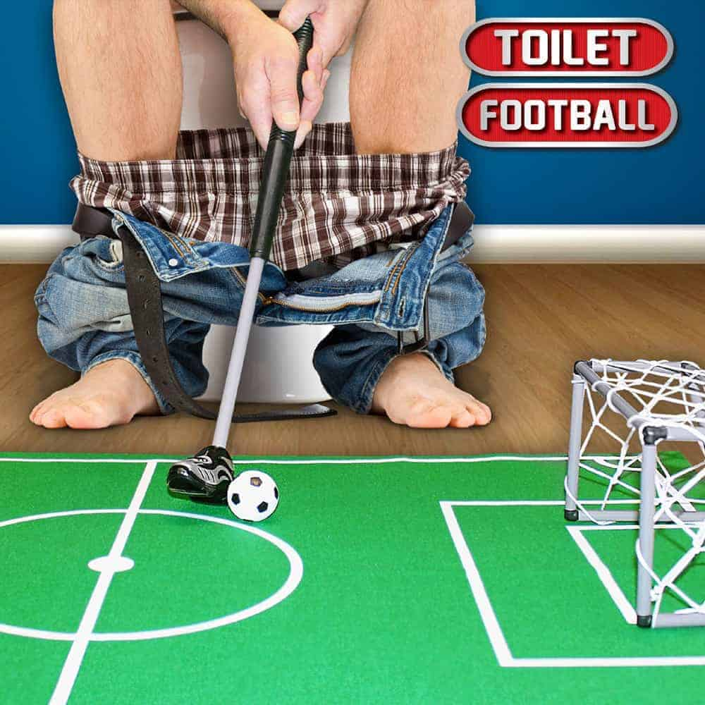 Novelty Toilet Football Game