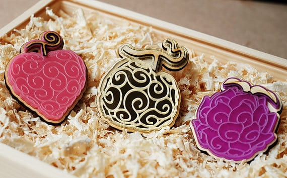 One Piece Devil Fruit Cuff Links
