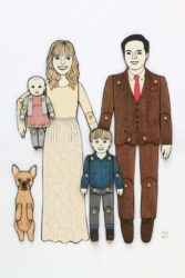 Paper Doll Portraits Personalized