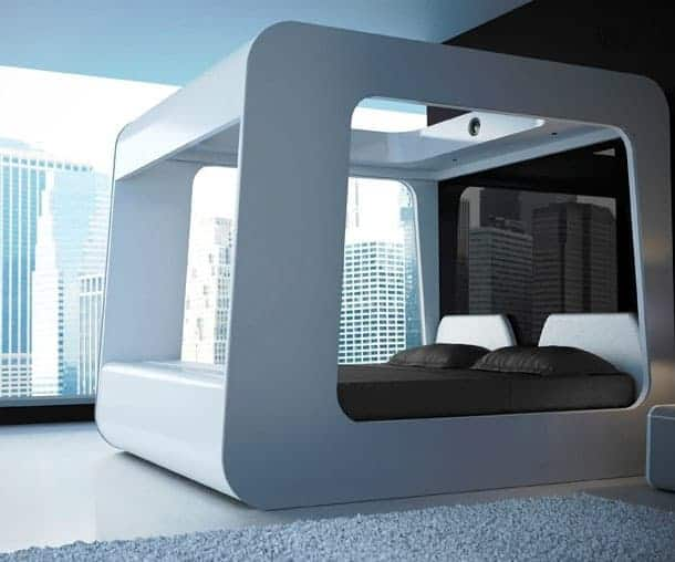 Smart Bed With Entertainment