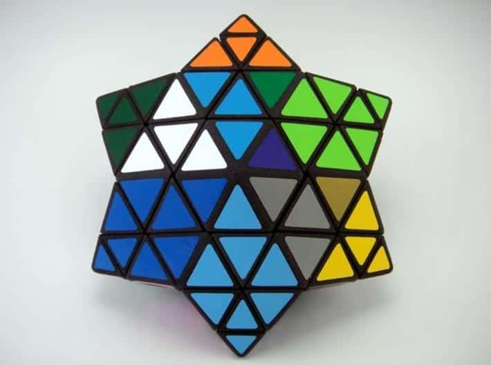 Star Shaped Rubik's Cube