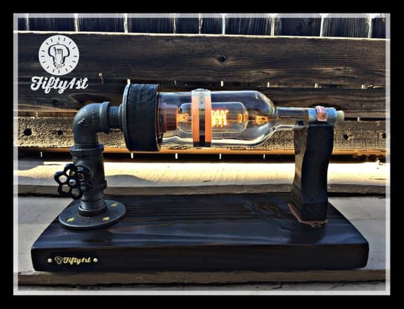 Steampunk Industrial Table Lamp