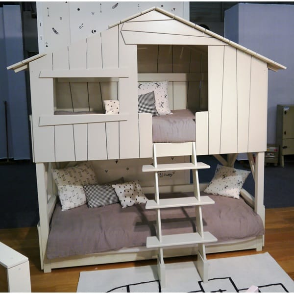 Treehouse Bunk Bed For Kids