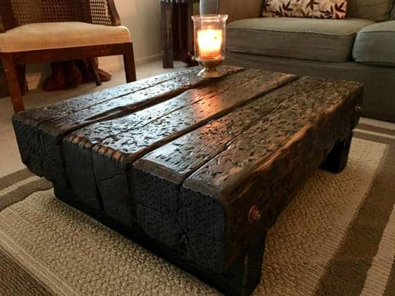 Wine Train Coffee Table